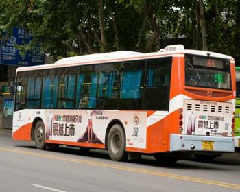 南京公交车广告