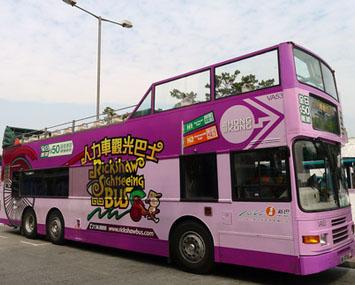 深圳双层观光巴士广告