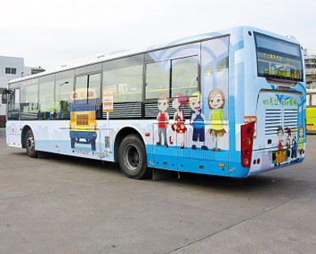 珠海公交车广告