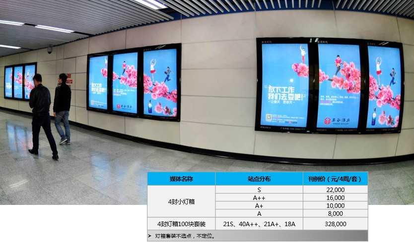 成都地铁广告