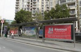 滁州公交候车亭广告