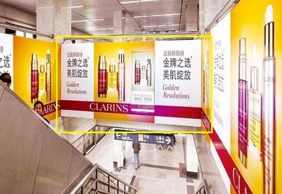 上海地铁梯顶媒体