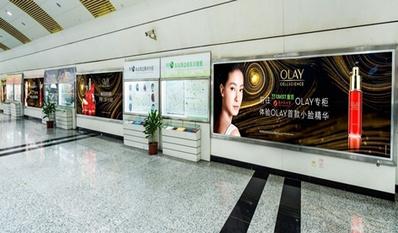 重庆地铁4515型号灯箱广告