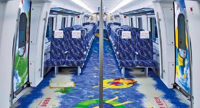 长沙城铁列车&石长动车媒体广告