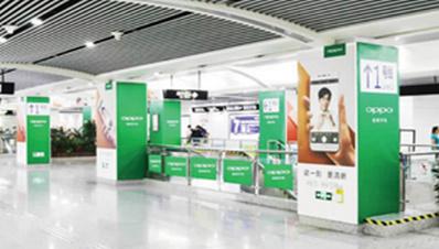 宁波地铁品牌森林广告