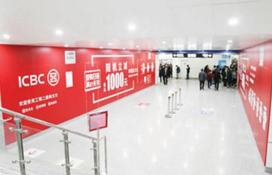 宁波地铁品牌通道广告