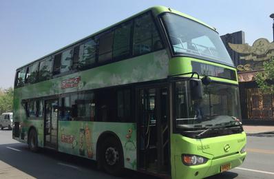天津公交车广告