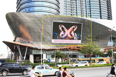 南宁户外楼宇LED大屏广告