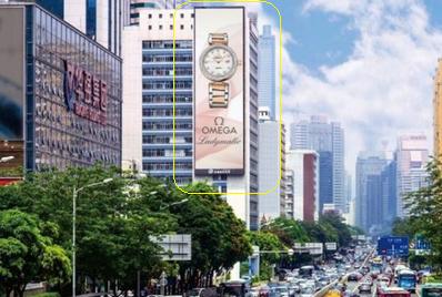 深南大道中电大厦LED屏广告