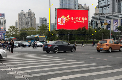 惠州户外LED大屏广告