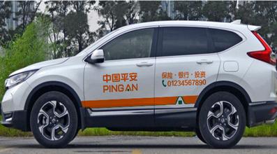 三亚共享汽车车身广告
