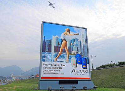 香港机场户外立式大牌广告