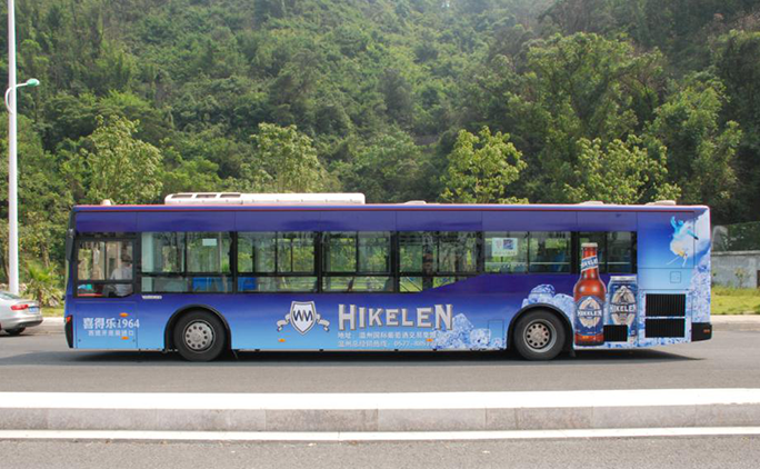 公交广告展示
