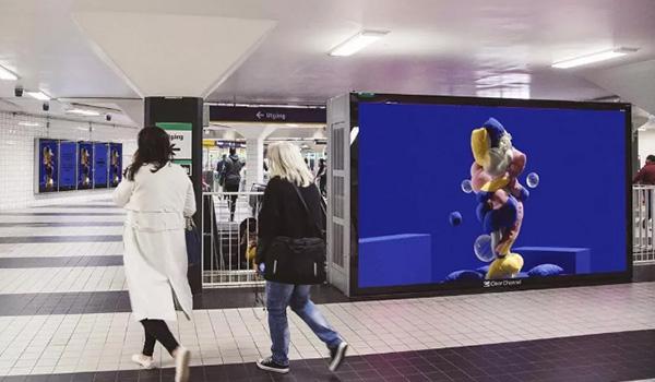 斯德哥尔摩地铁广告