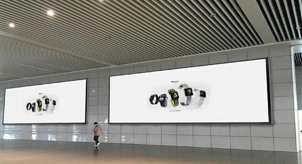 站台墙面灯箱广告