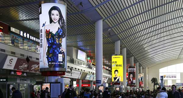 济南高铁站候车大厅灯箱广告都有哪些媒体价值?  第1张