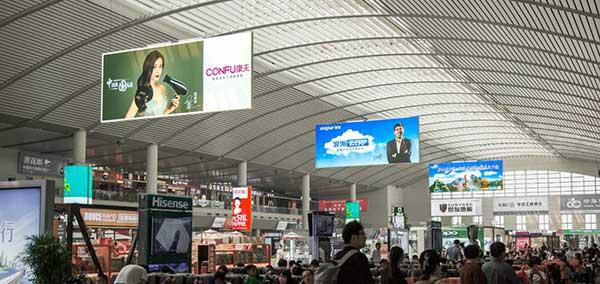 济南高铁站候车大厅灯箱广告都有哪些媒体价值?  第2张