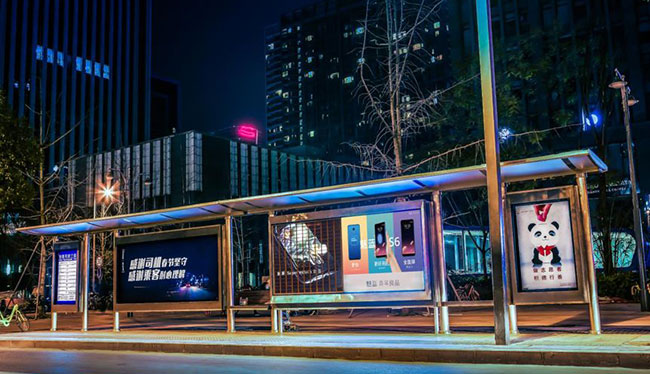 公交候车亭广告有哪些优势特点?