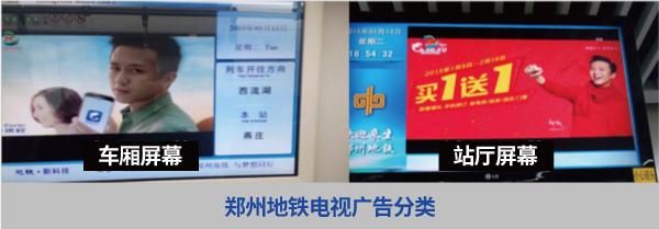 郑州地铁电视广告