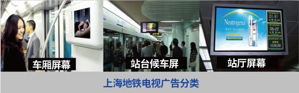上海地铁电视广告