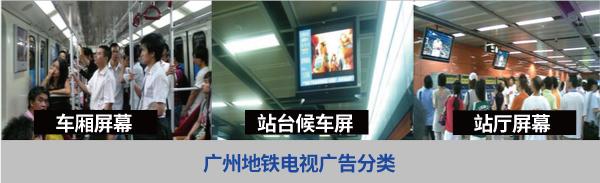 广州地铁电视广告