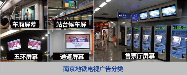 南京地铁电视广告