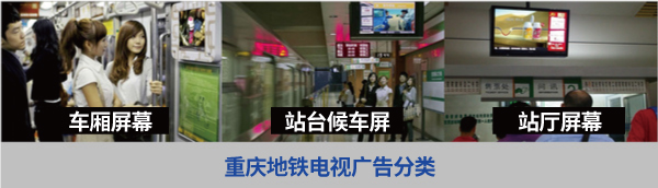 重庆地铁电视广告
